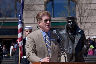 Navy Memorial President and CEO Rear Adm. Richard A. Buchanan, USN (Ret.)