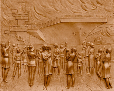 U.S. Navy Memorial Bas-Relief Panels