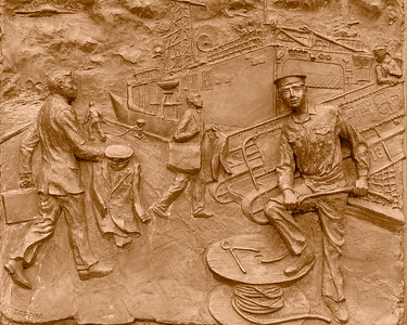 U.S. Navy Memorial World War Panels