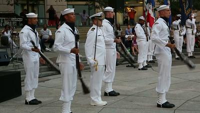 US Navy Ceremonial Guard Drill Team