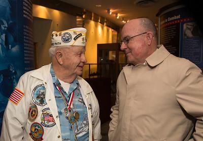STC (SS) Howard Snell USN (Ret); Admiral John C. Harvey, Jr., USN (Ret)