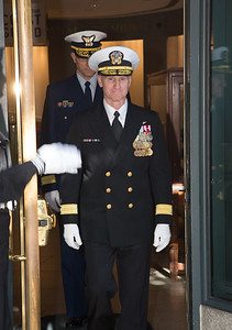U.S. Navy Rear Adm. Mark Rich, commandant, Naval District Washington