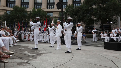 U.S. Navy Ceremonial Guard Drill Team (Aug. 11, 2015)