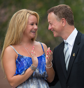 Gary Sinise and daughter Ella