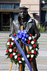 Navy Memorial - Wreath Laying - Benjamin H Drummond : Benjamin Drummond, a 24-year-old Black sailor, was the first patient admitted to the Naval Hospital, Washington City (now known as the Old Naval Hospital) when it opened on October 1, 1866. For more information about Drummond, see  http://www.oldnavalhospital.org/fpt_main.html This ceremony took place on February 7, 2009 at the U.S. Navy Memorial & Naval Heritage Center in Washington DC.  Vice Admiral Adam M. Robinson, Jr., Surgeon General of the Navy and Chief of the Bureau of Medicine and Surgery, was the guest speaker. (Click on SLIDESHOW bar for full screen view.)