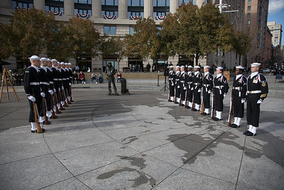 Veterans Day, Navy Memorial