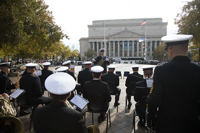 Veterans Day, Navy Memorial