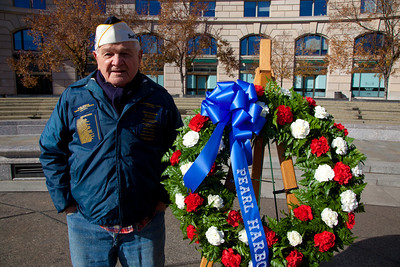 88-year old Pearl Harbor survivor Frank Yarnick, Sr. took part in 10 major battles in the Pacific.
