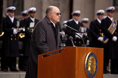 John Carl Mindte, son of deceased Pearl Harbor survivor Cdr. Richard Wagoner Mindte, USN (Ret.)