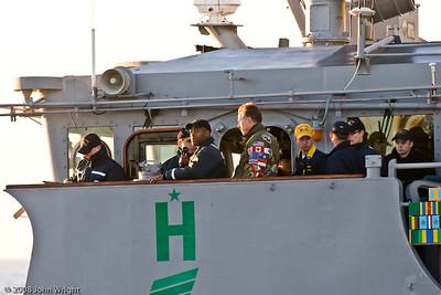USS Cape St. George bridge personnel