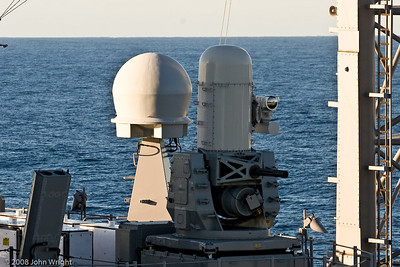 USS Cape St. George Phalanx CWIS (Close-In Weapons System) mount