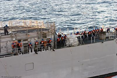 USS Cape St. George unrep detail