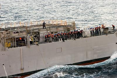 USS Cape St. George unrep personnel