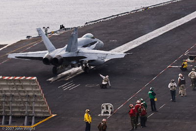 "F/A-18C ""Hornet"" ready to launch"