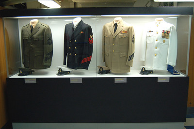 Chief's Uniform Display