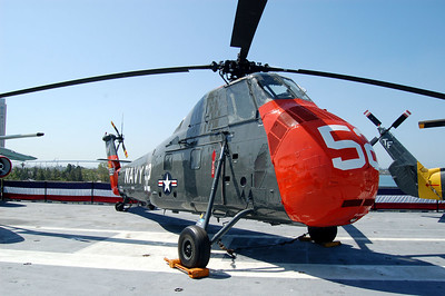 H-34 Seabat Helicopter