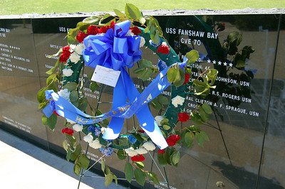 USS Fanshaw Bay Wreath