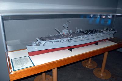 USS Langley CVL-27 Model