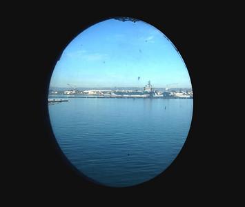 Reagan across Bay from Forward Con