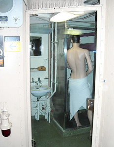 Needed a Shower on Tour