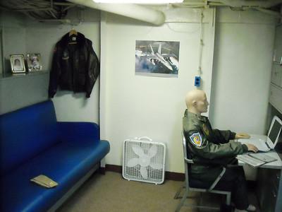 Squadron Commander Cabin
