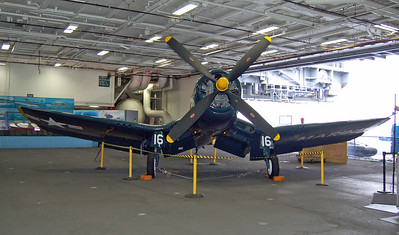 Corsair in the Entry to Midway