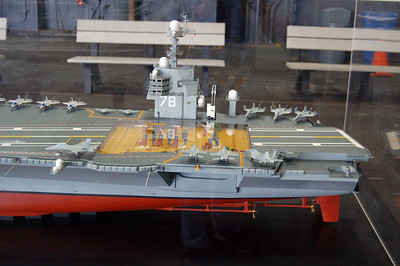 Carrier Model Stern Port View