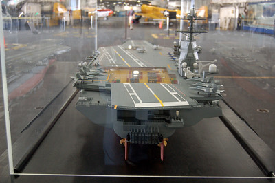 Carrier Model Stern View