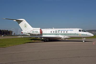 Nigerian Air Force Hawker Beechcraft 4000 5N-FGX (msn RC-66) ZRH (Rolf Wallner). Image: 939751.