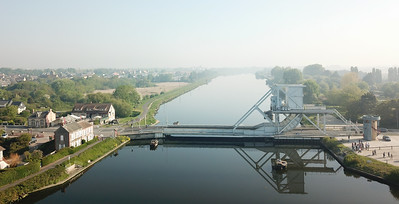 The current Pegasus Bridge
