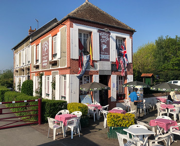 Cafe Gondree, the first building liberated on D-Day