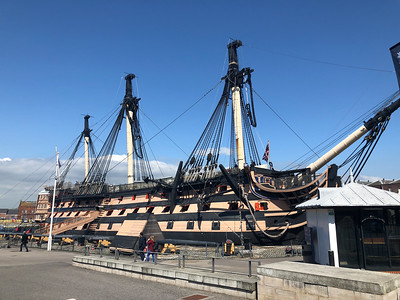 Lord Nelson's flagship, HMS Victory