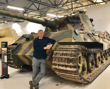 German WWII King Tiger tank
