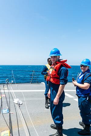 Replenishment At Sea 22MAR2014
