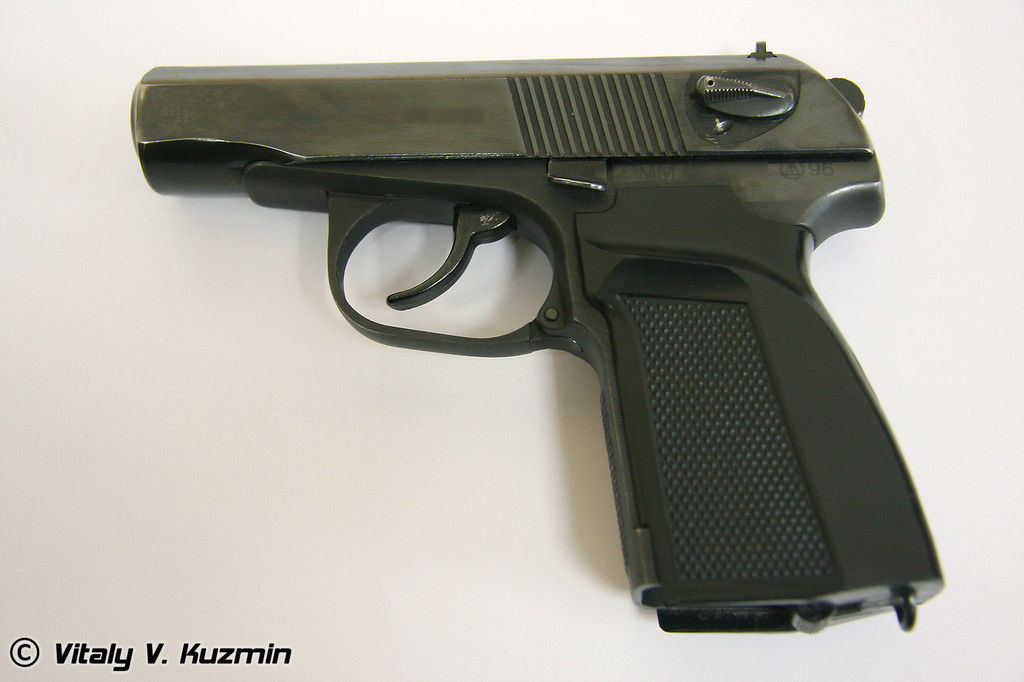 Пистолет ПММ (PMM pistol)