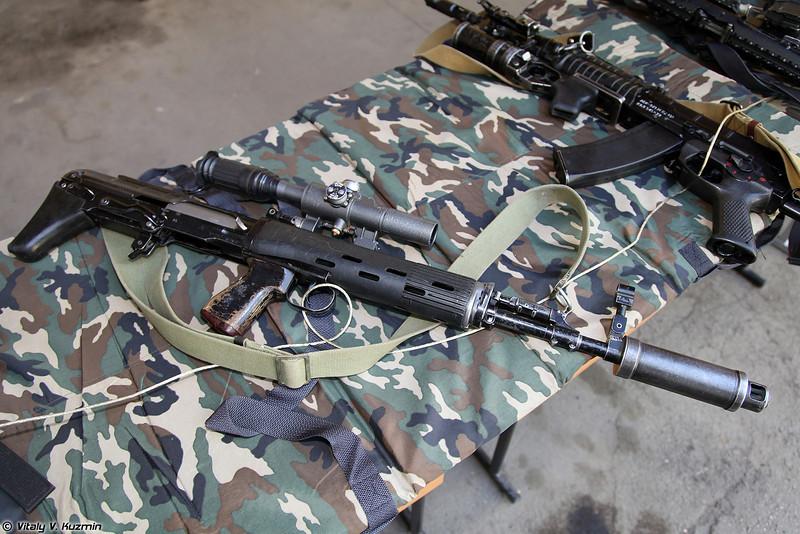 7.62х54 снайперская винтовка СВУ-А (7.62x54 sniper rifle SVU-A)