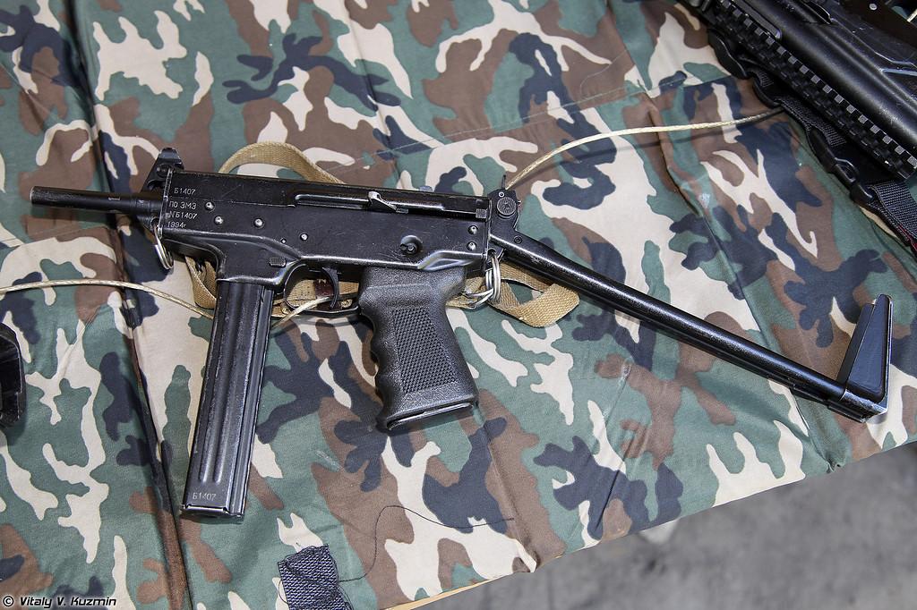 9х18 пистолет-пулемет ПП-91 Кедр (9x18 submachine gun PP-91 Kedr)