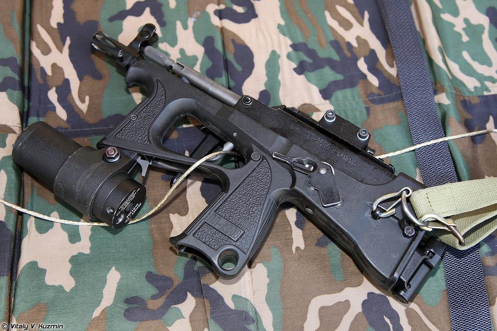 9х19 пистолет-пулемет ПП-2000 (9x19 submachine gun PP-2000)