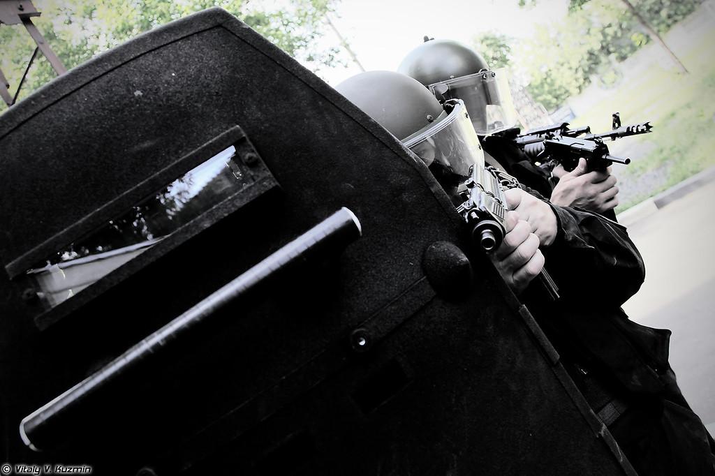 Тактико-специальное занятие ОСН Сатурн УФСИН России по г.Москве (Tactical exercises of Saturn special unit of Moscow department of Federal Service for Punishment Execution)