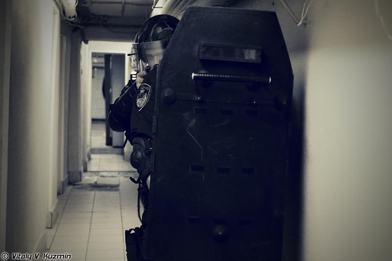 Тактико-специальное занятие с одним из штурмовых отделений ОСН Сатурн УФСИН России по г.Москве (Tactical exercise of operators of OSN Saturn special purpose unit)