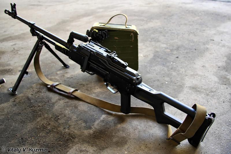 Пулемет ПКМ (PKM machine gun)