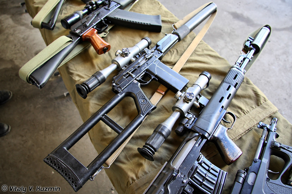 Снайперская винтовка ВСК-94 (VSK-94 sniper rifle)