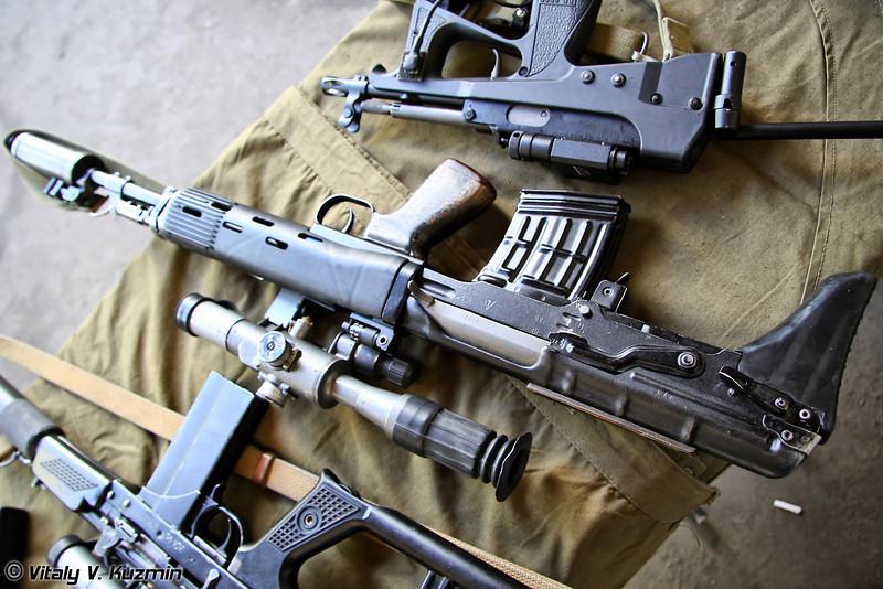 Снайперская винтовка СВУ-А (SVU-A sniper rifle)