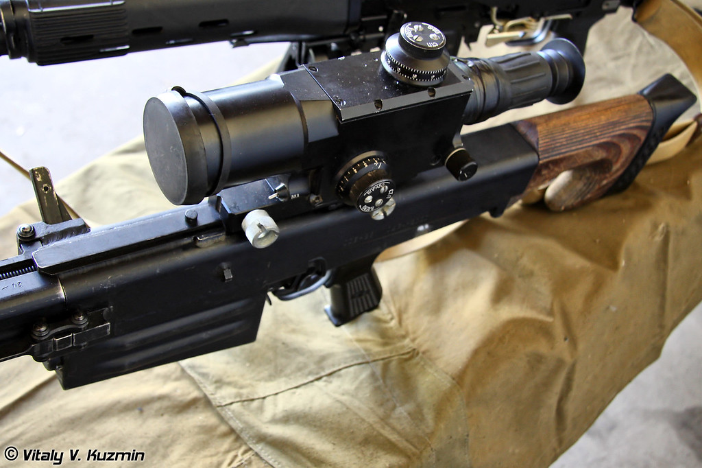 Снайперская винтовка ОСВ-96 (OSV-96 sniper rifle)
