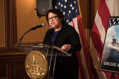 Sonia Sotomayor, USS Columbia