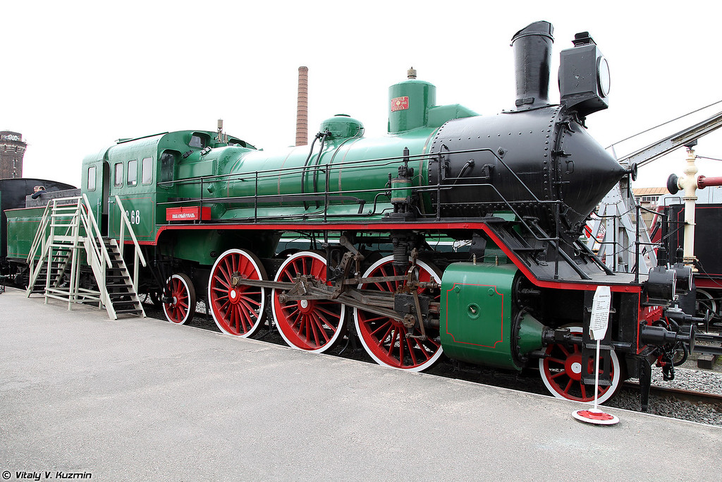 Пассажирский паровоз С.68 (S.68 steam locomotive)