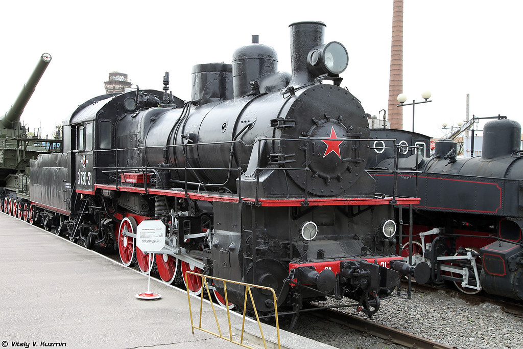 Паровоз ЭМ 730-31 (EM 730-31 steam locomotive)