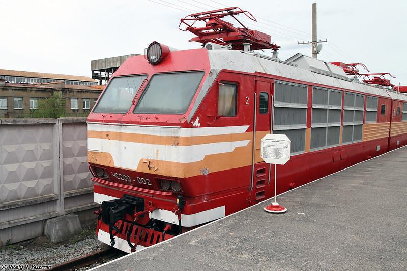 Пассажирский электровоз ЧС200-002 (ChS200-002 electric locomotive)