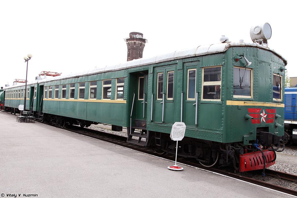 Моторный вагон электропоезда См-027 (Sm-027 electric locomotive)
