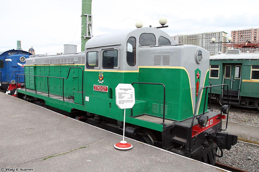 Промышленный тепловоз ТГМ3-021 (TGM3-021 diesel locomotive)